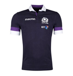 2017-2018 Scotland Home SS Cotton Rugby Shirt