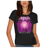 Anthrax Ladies Tee: For All Queens (Skinny Fit)
