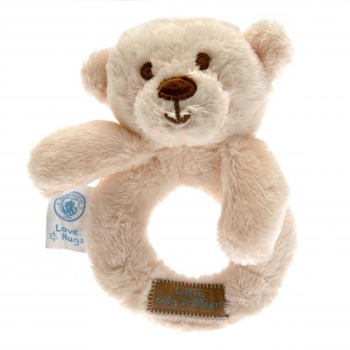 Manchester City F.C. Baby Rattle Hugs