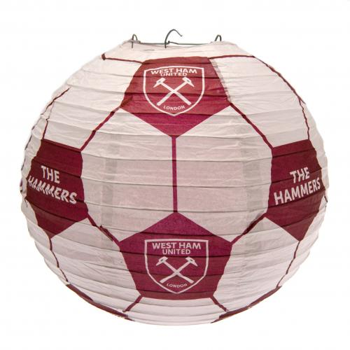 West Ham United F.C. Paper Light Shade