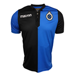 2017-2018 Club Brugge Authentic European Home Match Shirt