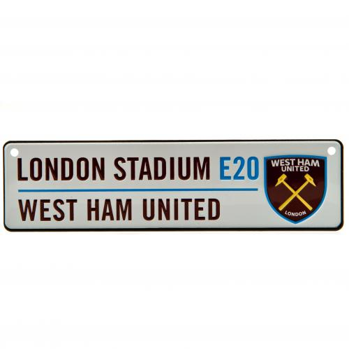 West Ham United F.C. Window Sign