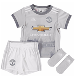 2017-2018 Man Utd Adidas Third Baby Kit
