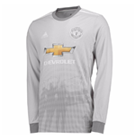 2017-2018 Man Utd Adidas Third Long Sleeve Shirt