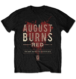 August Burns Red Men's Tee: Hearts Filled