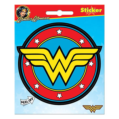 WONDER WOMAN Logo Sticker