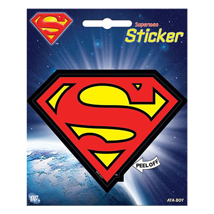 SUPERMAN Logo Sticker