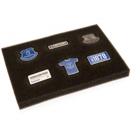 Everton F.C. 6 Piece Badge Set