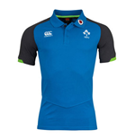 2017-2018 Ireland Rugby Cotton Pique Polo Shirt (Skydiver)