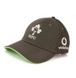 2017-2018 Ireland Rugby Cotton Drill Adjustable Cap (Asphalt)