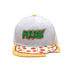 TEENAGE MUTANT NINJA TURTLES (TMNT) Pizza Bite Snapback Baseball Cap, One Size, Multi-colour