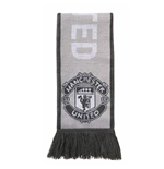 2017-2018 Man Utd Adidas 3S Scarf (Light Grey)
