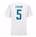 2017-18 Real Madrid Home Shirt - Kids (Zidane 5)