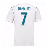 2017-18 Real Madrid Home Shirt - Kids (Ronaldo 7)