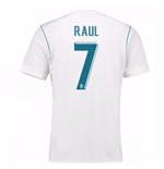 2017-18 Real Madrid Home Shirt - Kids (Raul 7)