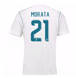 2017-18 Real Madrid Home Shirt - Kids (Morata 21)
