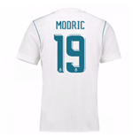 2017-18 Real Madrid Home Shirt - Kids (Modric 19)