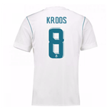 2017-18 Real Madrid Home Shirt - Kids (Kroos 8)