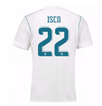 2017-18 Real Madrid Home Shirt - Kids (Isco 22)