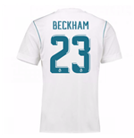 2017-18 Real Madrid Home Shirt - Kids (Beckham 23)