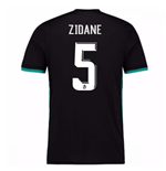 2017-18 Real Madrid Away Shirt (Zidane 5)