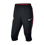 2017-2018 Atletico Madrid Nike Three Quarter Length Pants (Black)