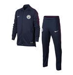 2017-2018 Man City Nike Dry Tracksuit (Navy) - Kids