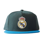 2017-2018 Real Madrid Adidas Flat Cap (Solid Grey)