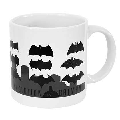 BATMAN Evolution White Coffee Mug