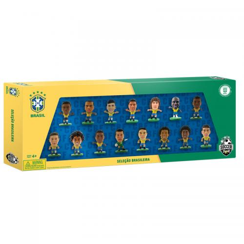 Brasil SoccerStarz 15 Player Team Pack B