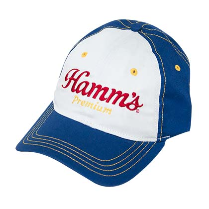 HAMM'S Royal Unstructured Embroidered Hat