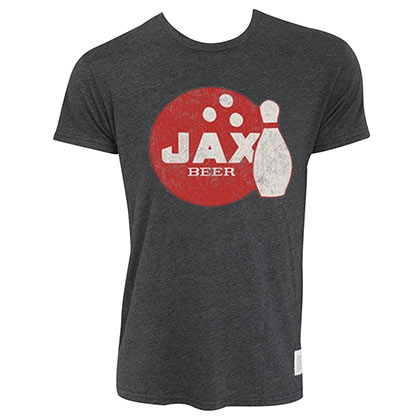 JAX Retro Brand Gray Tee Shirt