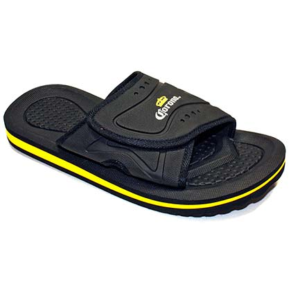 CORONA EXTRA Slip On Men's Black Sandals