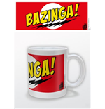 Big Bang Theory Mug - Bazinga Red