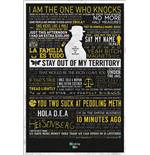 Breaking Bad Poster - Typographic - 61X91,5 Cm
