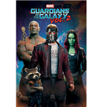 Guardians of the Galaxy Vol.2 Poster - Characters In Space - 61X91,5 Cm