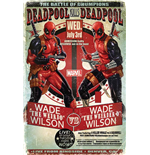 Deadpool Poster - Wade Vs Wade - 61X91,5 Cm