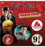 Harry Potter - Gryffindor Pin Badge Pack