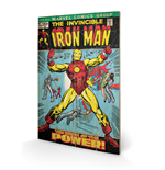 Iron Man Print on wood 271794