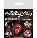 The Rolling Stones Pin Badge Pack - Classic