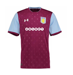 2017-2018 Aston Villa Home Football Shirt
