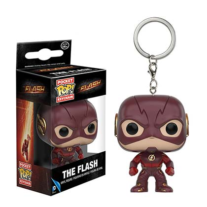 FLASH TV Mini Funko Pop Keychain