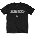 The Smashing Pumpkins Men's Tee: Zero Distressed with Distressed Printing
