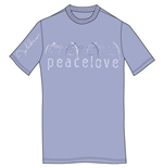John Lennon Men's Premium Tee: Peace & Love