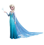 Frozen Giant Vinyl Wall Decal Set Elsa