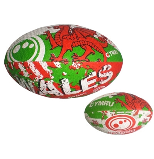 Wales Rugby Training Replica Ball