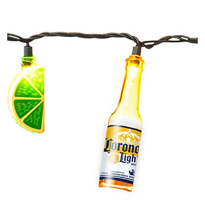 CORONA EXTRA Lime String Lights