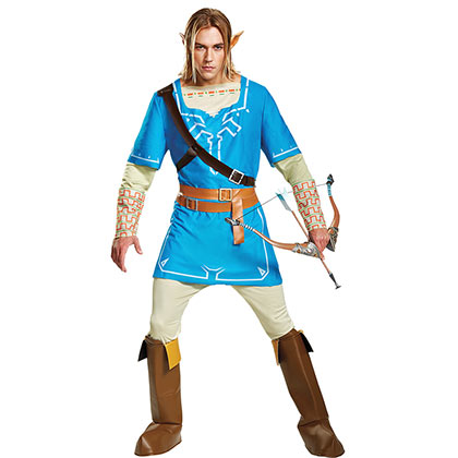 The LEGEND OF ZELDA Breath Of The Wild Adult Costume