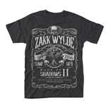 Zakk Wylde T-shirt Book Of Shadows Ii