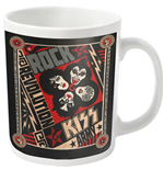 Kiss Mug Revolution (WHITE)